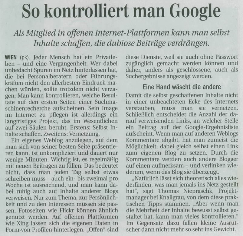 So kontrolliert man Google – Tipps fürs Online Reputations Management