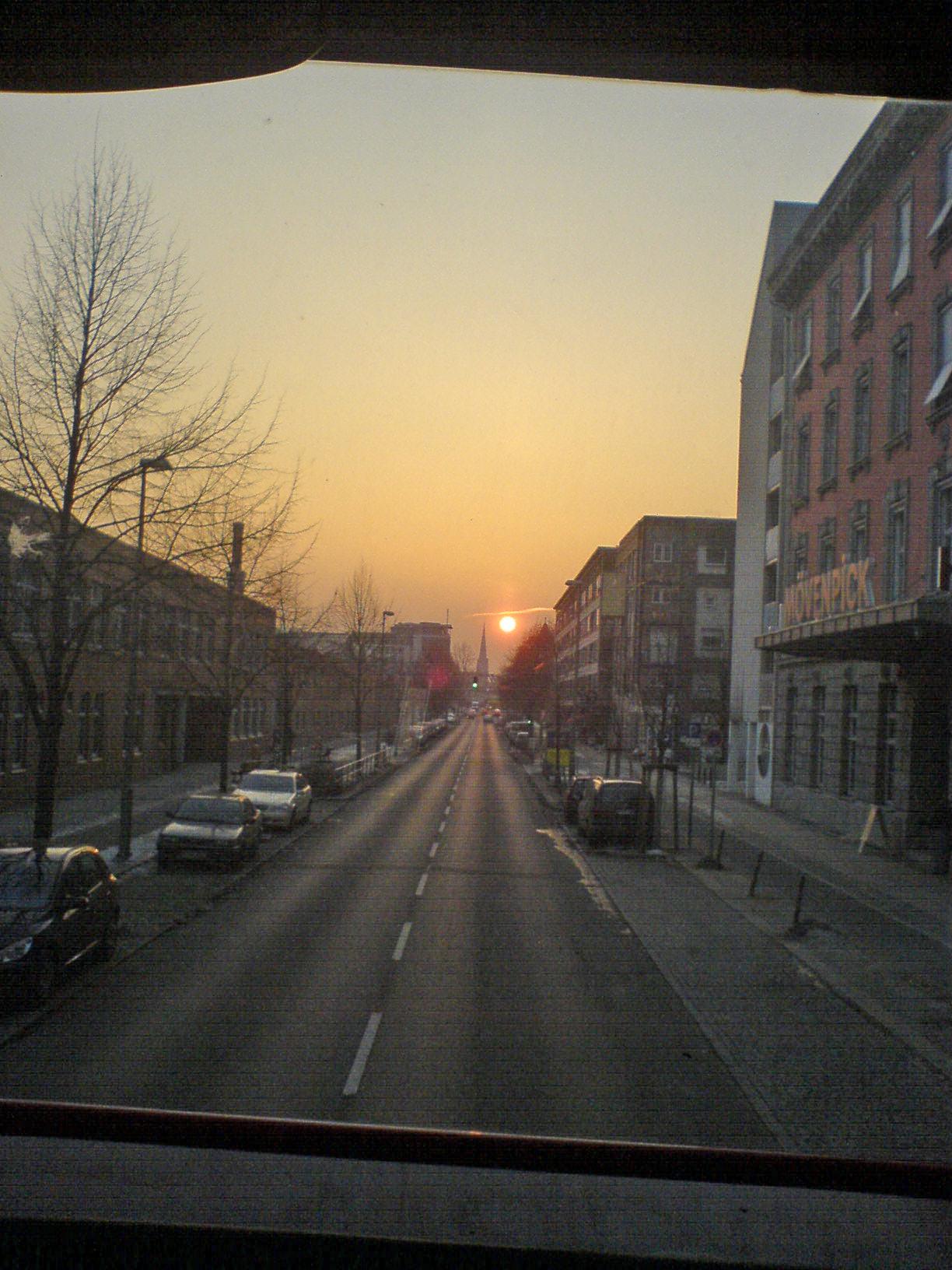 Sonnenuntergang aus dem M29